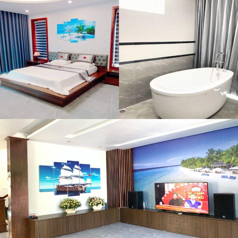 phòng tại villa sóng đại dương 2