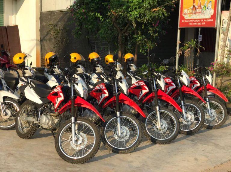 xe XR 150cc tại thuê xe máy MOTOGO Hà Giang