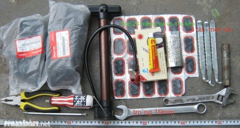 Bộ kit vá xe được sử dụng trong những tình huống khẩn cấp