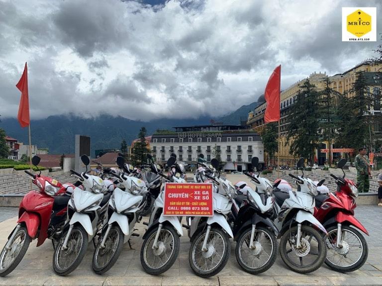 thuê xe máy giá rẻ tại trung tâm Sa Pa