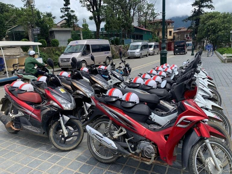 thuê xe máy tại Sa Pa