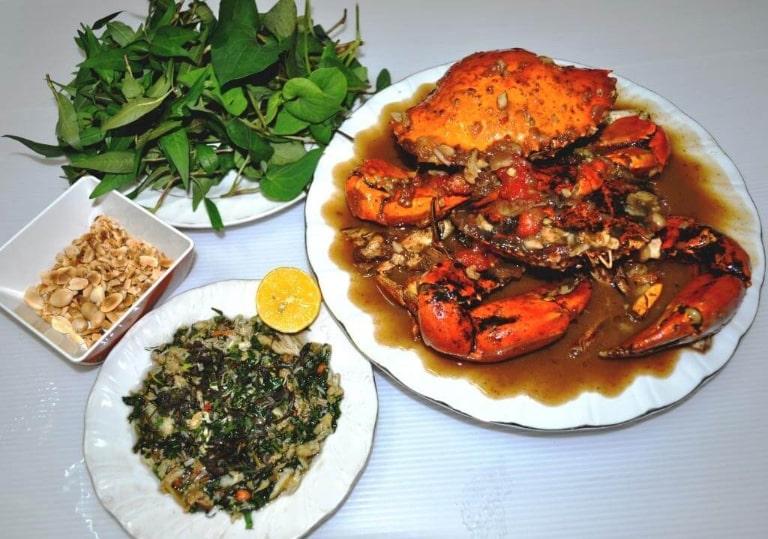 Bạn sẽ được thưởng thức văn hóa ẩm thực đa dạng và phong phú ở bãi Dài tại Phú Quốc