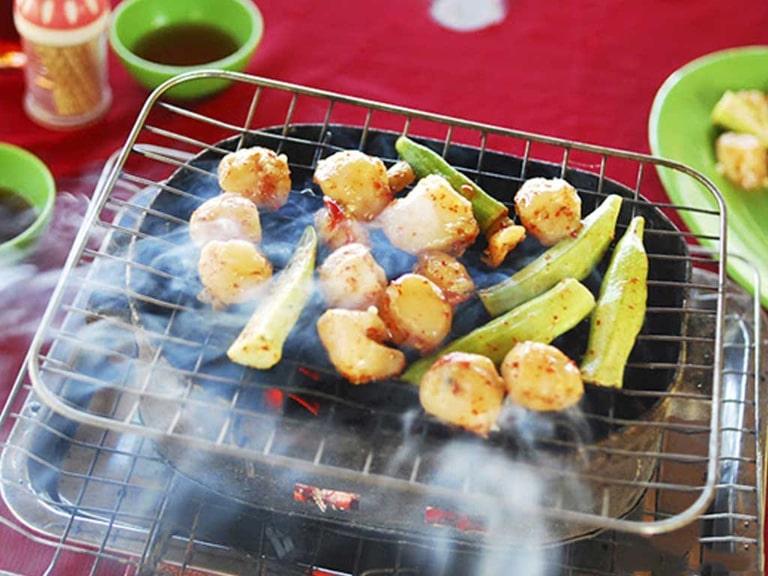 Còi Biên Mai nướng món ăn nhất định nên thử ở Bãi Sao