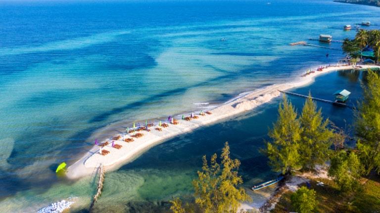 Bắc Đảo của Phú Quốc có nhiều làng chài và bãi tắm