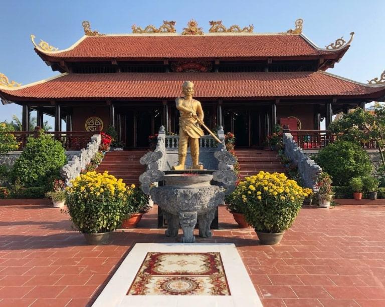 Địa điểm du lịch thờ vị anh hùng dân tộc nổi tiếng