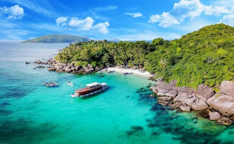Nơi đây tập trung nhiều đảo nhỏ nhất trên bản đồ du lịch Phú Quốc