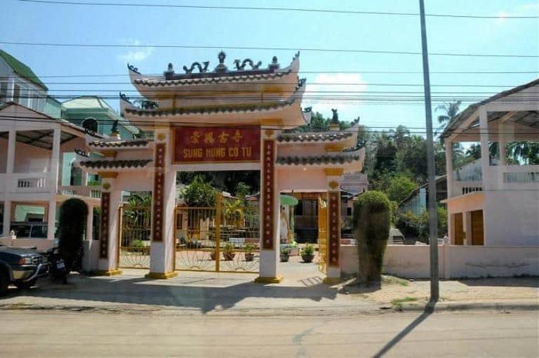 Ngôi chùa ở Phú Quốc mang đậm nét kiến trúc dân gian đặc trưng