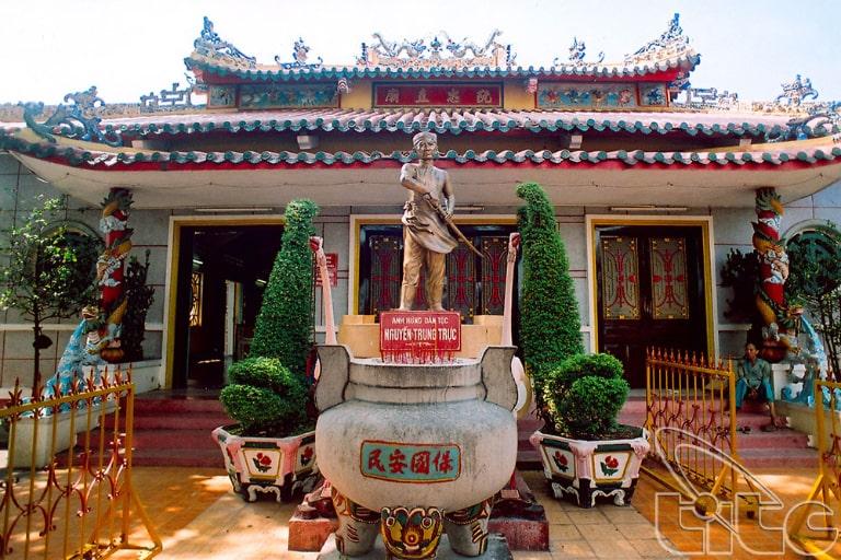Đền thờ vị anh hùng dân tộc nổi tiếng một thời ở Phú Quốc