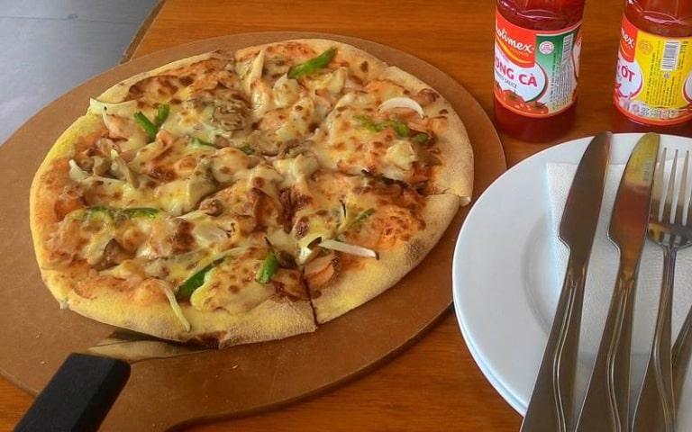 Địa điểm ăn pizza rất lý tưởng ở đảo