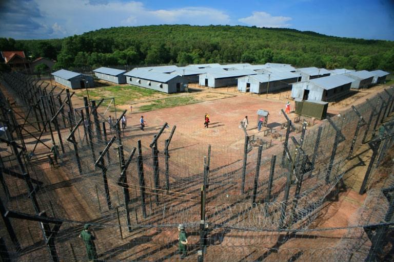 Toàn cảnh nhà tù ở Phú Quốc