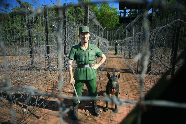 Có rất nhiều địa điểm trong nhà tù ở đảo ngọc mang đậm tinh thần và ý chí yêu nước của quân dân ta