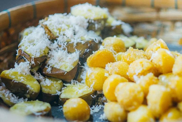 Hương thơm của bánh bò thốt nốt kích thích vị giác nhiều người