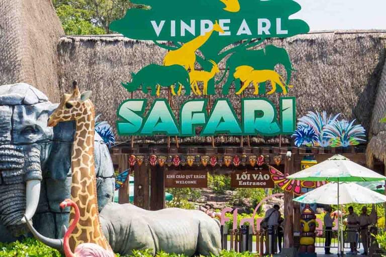 Vinpearl Safari chính là công viên sở thú lớn nhất tại đảo ngọc