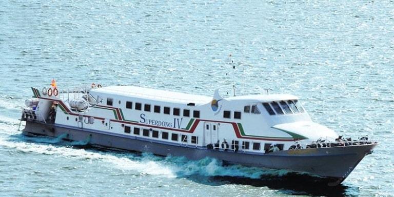 Tàu cao tốc có lịch sử lâu đời nhất đang hoạt động ở Phú Quốc