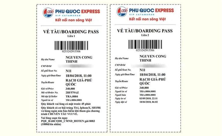 Đặt vé tàu cao tốc đi Phú Quốc sớm sẽ giúp bạn hạn chế được các rủi ro