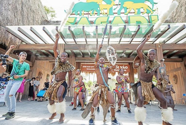 Điệu nhảy đặc trưng của người Nam Phi
