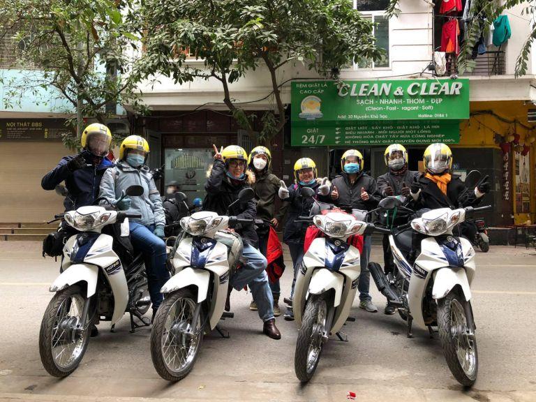 du lịch Hà Nội bằng xe máy của MOTOGO
