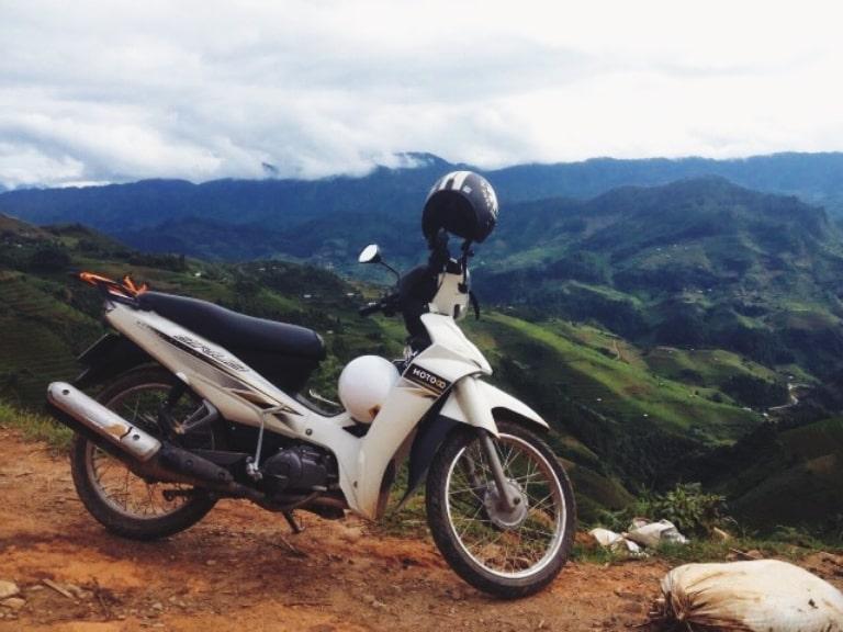 Không thiếu các địa điểm cho sinh viên thuê xe máy