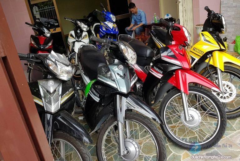 thuê xe máy du lịch Cà Mau