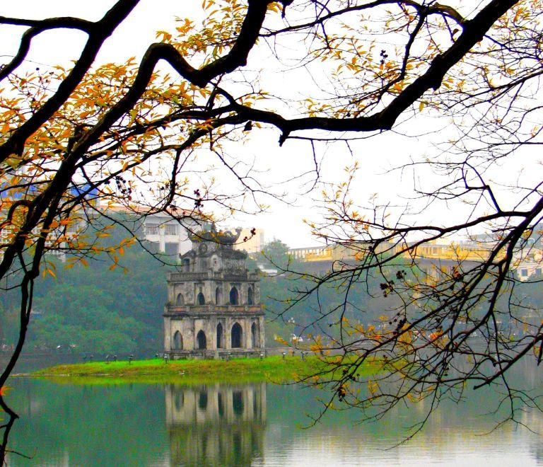 hồ Gươm mùa thu