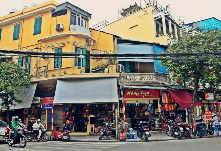 phố cổ Hà Nội ngày nay