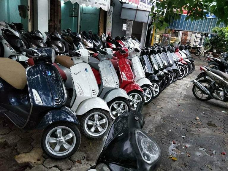 Dịch vụ thuê xe máy ở Chí Hiếu Homestay