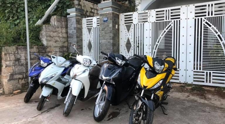 Cho thuê xe máy tại khách sạn Seri