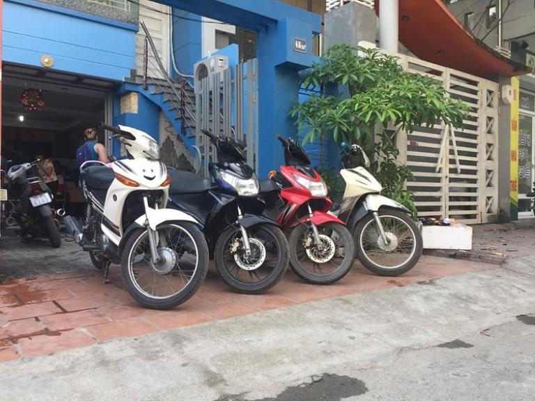 Thuê xe máy ở Công ty TNHH Hưng Ngọc Phát