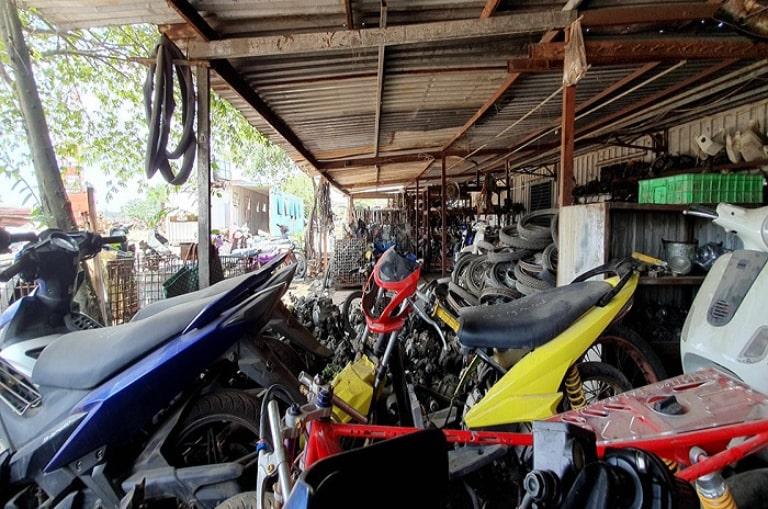Thuê xe máy tại xe du lịch Nghĩa Motor Biên Hòa