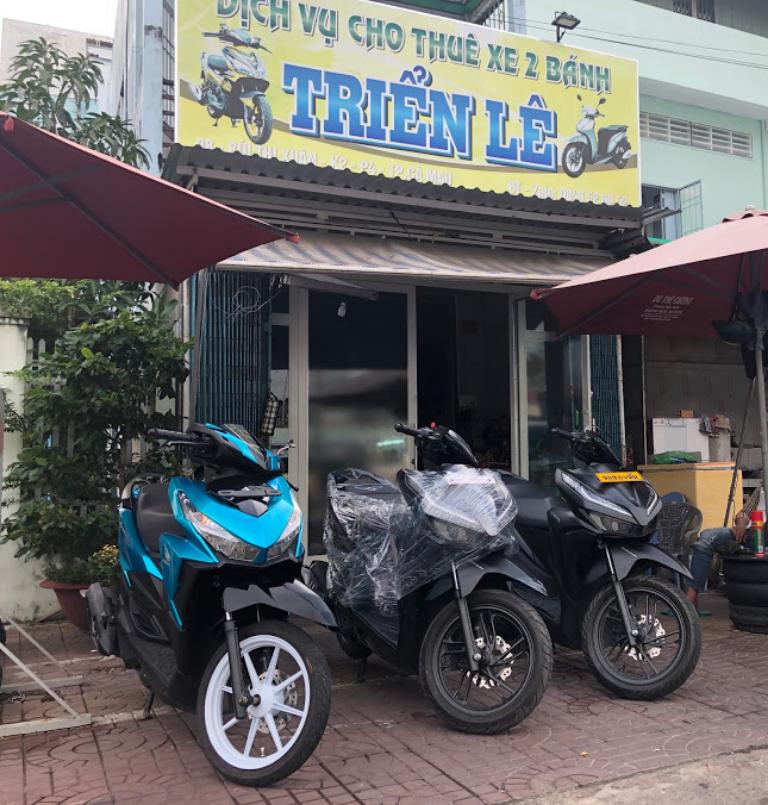 Cửa hàng Triển Lê cho thuê xe máy uy tín