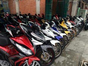 Cửa hàng cho thuê xe máy Tây Đô