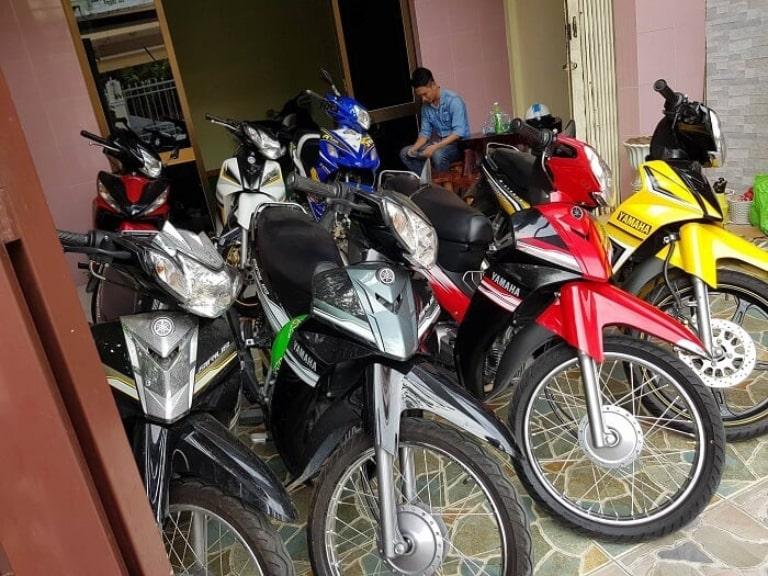 Thuê xe máy Sampan House
