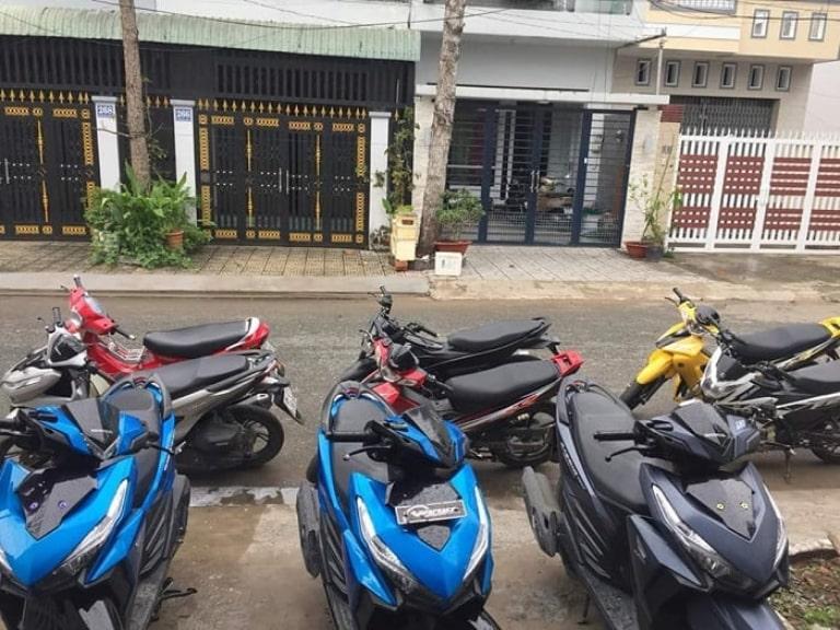 Dịch vụ cho thuê xe máy Hoàng Vũ