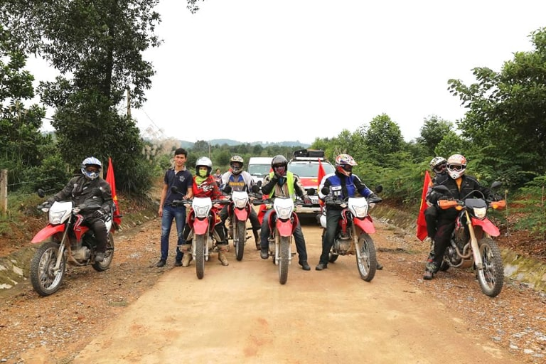 Cho thuê xe máy Trùng Khánh
