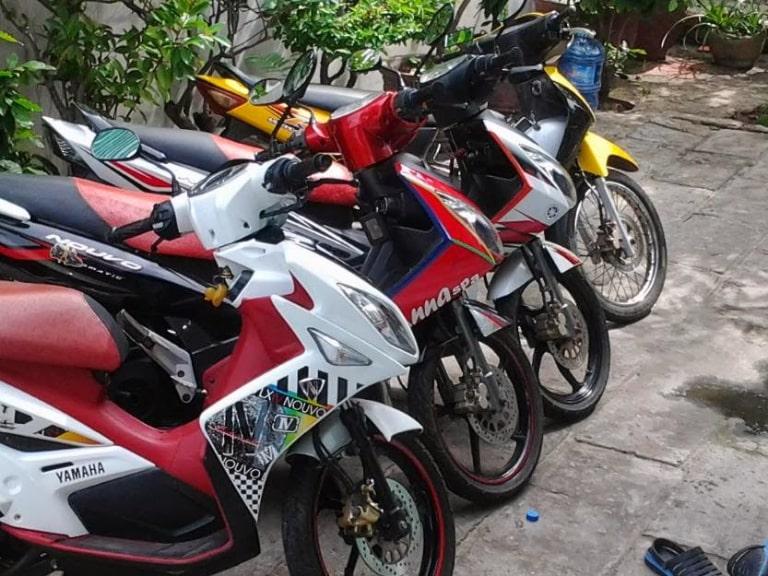 Cho thuê xe máy tại Châu Đốc