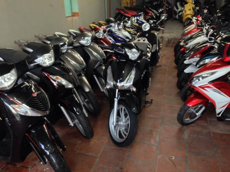 Thuê xe máy tại Motorbike for rent