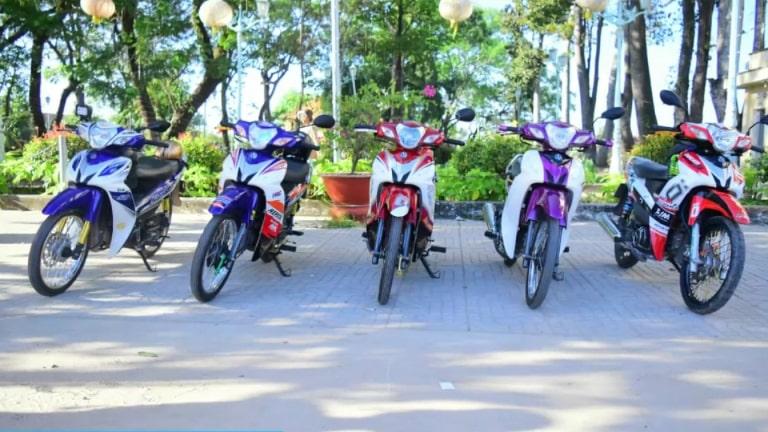 Dịch vụ cho thuê xe máy tại Tp. Châu Đốc