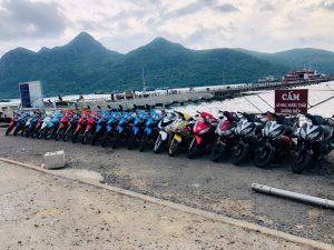 Thuê xe máy ở nhà xe Tân Châu