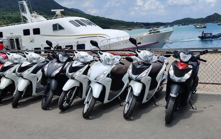 Dịch vụ thuê xe máy Phương Ân