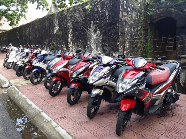 Dịch vụ thuê xe máy Côn Đảo