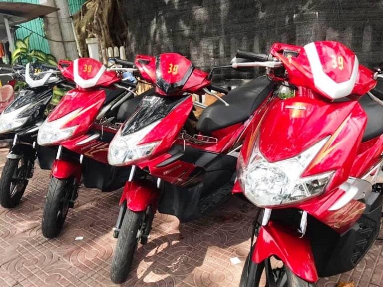Thủ tục thuê xe máy như thế nào?