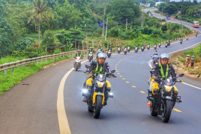 Dịch vụ thuê xe máy ở Thịnh Vượng Hotel