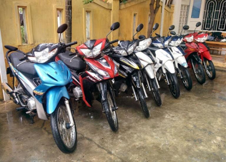 Thuê xe máy Kon Tum Măng Đăng
