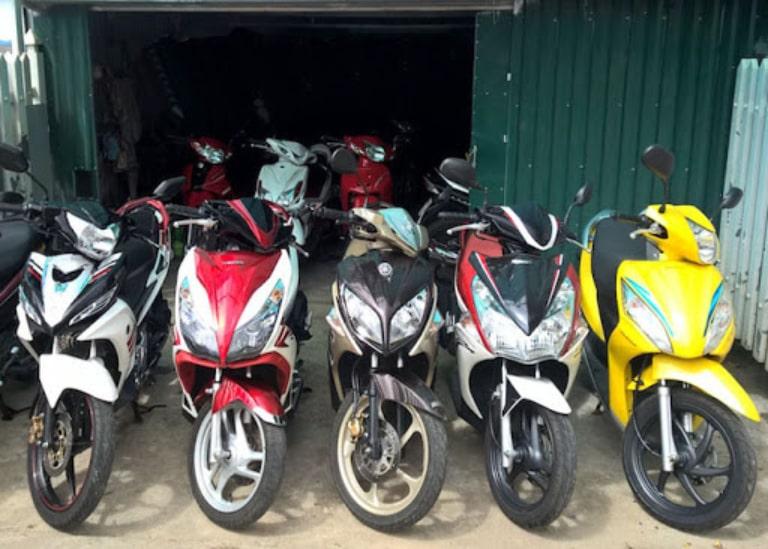 Thuê xe máy tại Hà Thanh