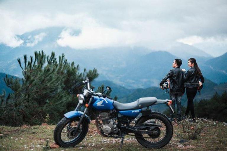 Cho thuê xe máy ở khách sạn Kim Sơn