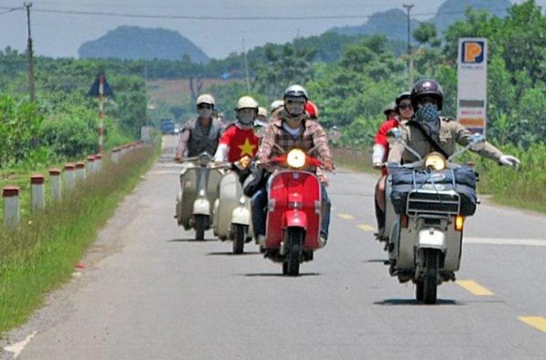 Lưu ý khi thuê xe máy ở Mộc Châu