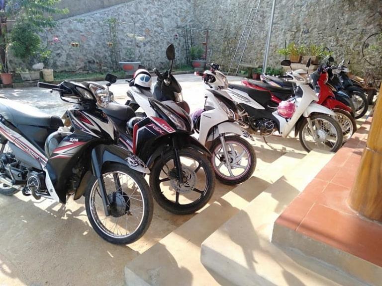 Cửa hàng cho thuê xe máy Hồng Hà