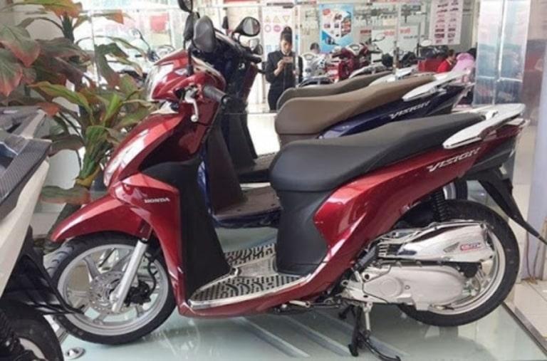 Thuê xe máy ở du lịch Thình