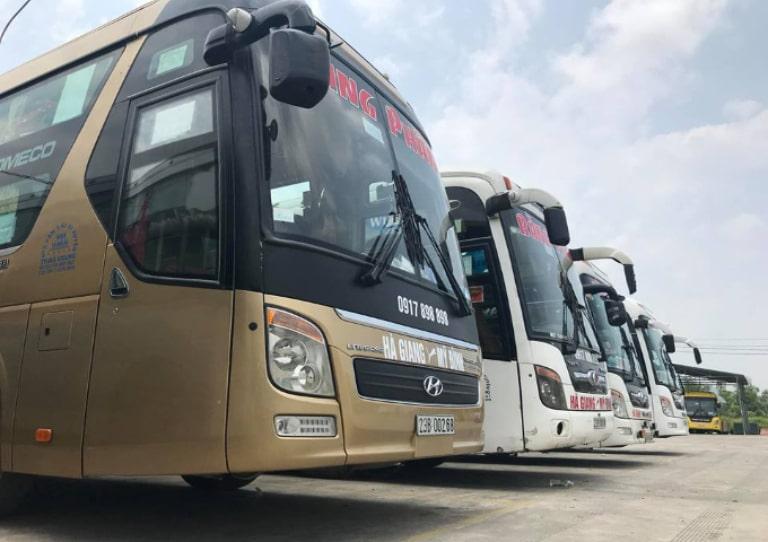 Xe khách uy tín và chất lượng để đi Hà Giang