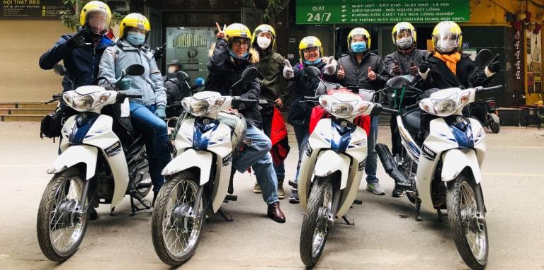 Giá thành cho thuê xe máy đi phượt Hà Nội giá rẻ